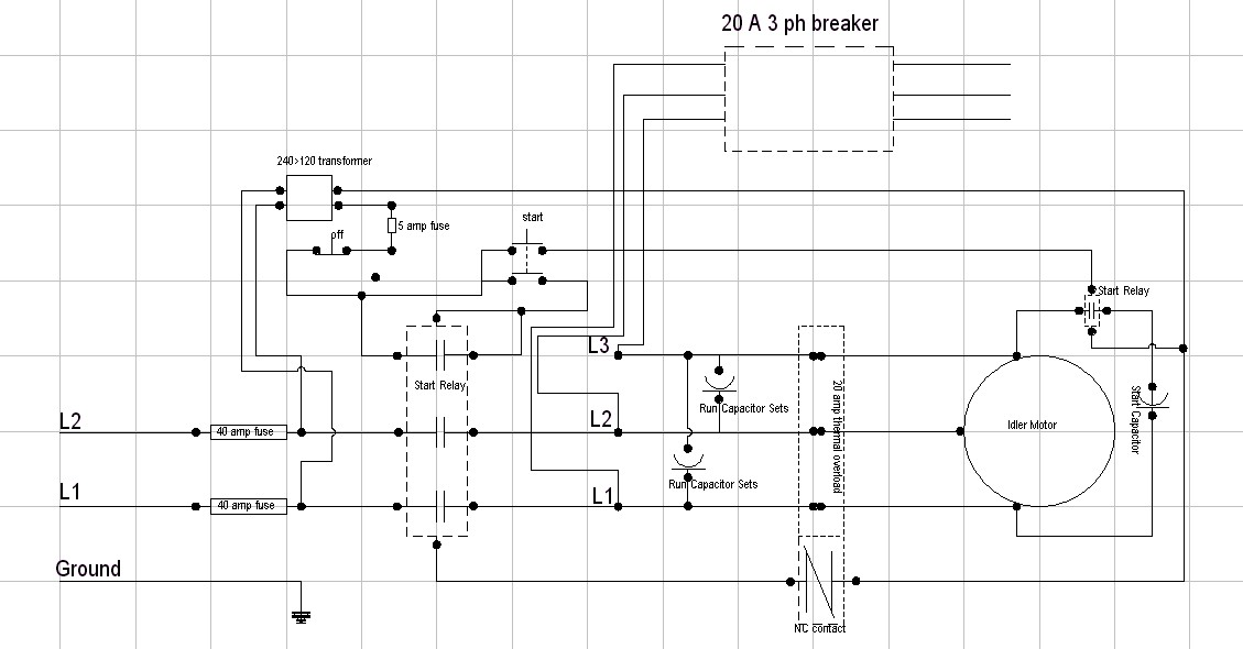32 American Rotary Phase Converter Wiring Diagram
