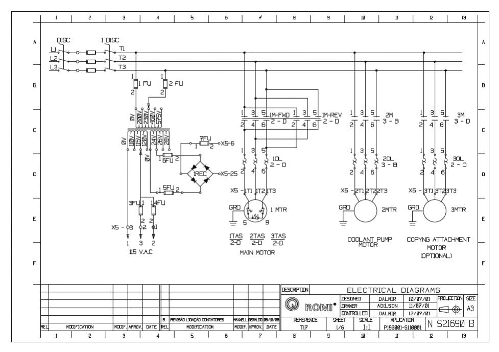 62662d1352518792 phase converter voltage issues i think causing problems new lathe please read romi t17 diagram static phase converter wiring diagram 24v capacitor 3 phase  at creativeand.co