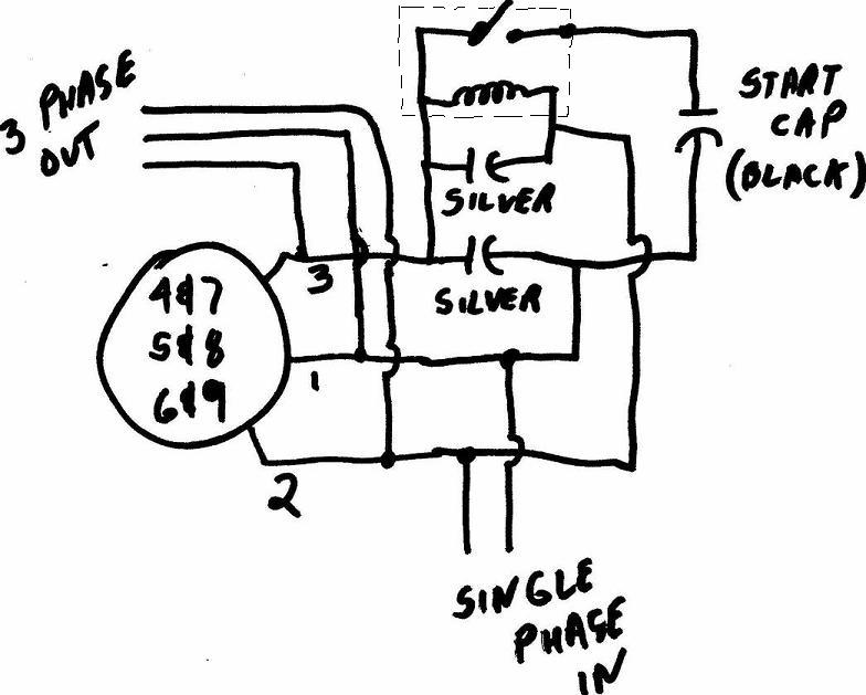 wiring diagram for air pressor motor