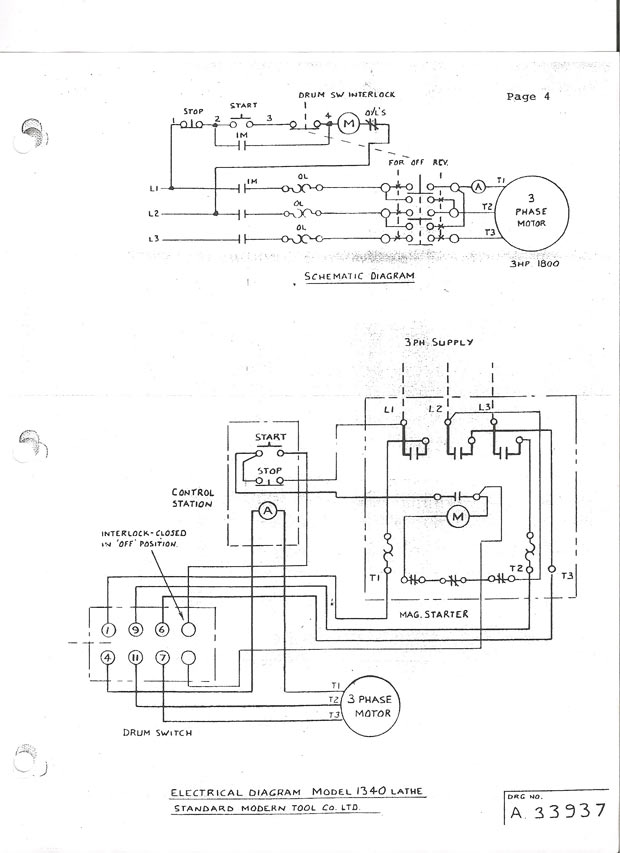 Single Phase Ac Motor Reversing Switch Wiring Diagram from www.practicalmachinist.com