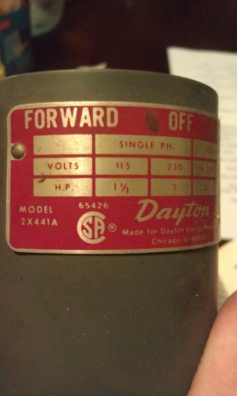 Dayton 2x441 Wiring Diagram - Wiring Diagrams Dock on