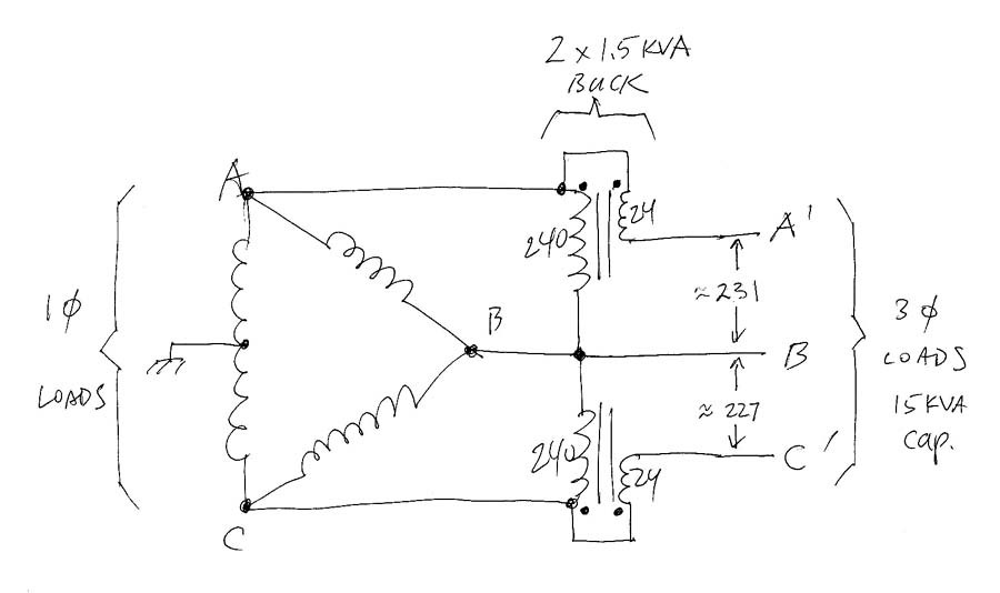 Buck Boost Transformer Wiring Diagram: Yet another 3ph buck/boost transformer thread,Design