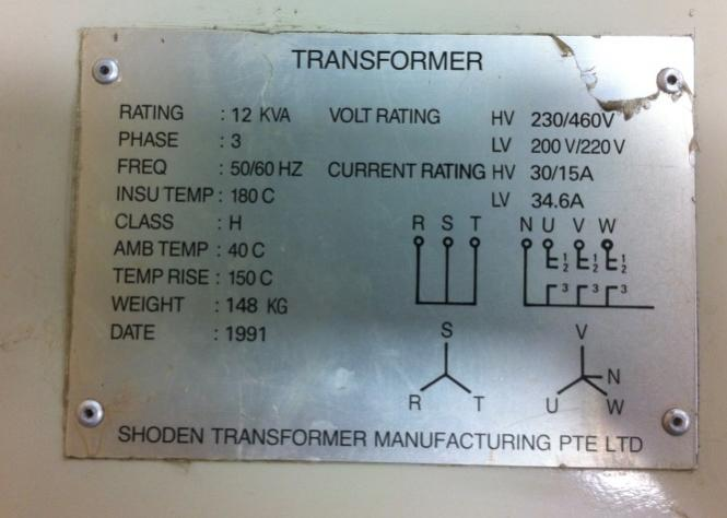 anyway to tweak this 3 phase transformer to lower the. Black Bedroom Furniture Sets. Home Design Ideas