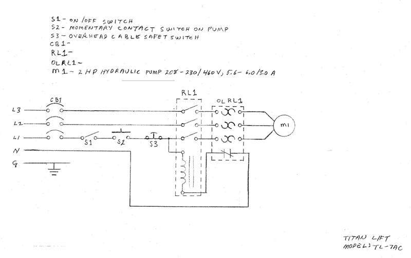 81269d1373938494 question about rpc idler motor overload protection running neutral line through rpc cropped small titan twin post auto lift power schematic question about rpc idler motor overload protection & running neutral