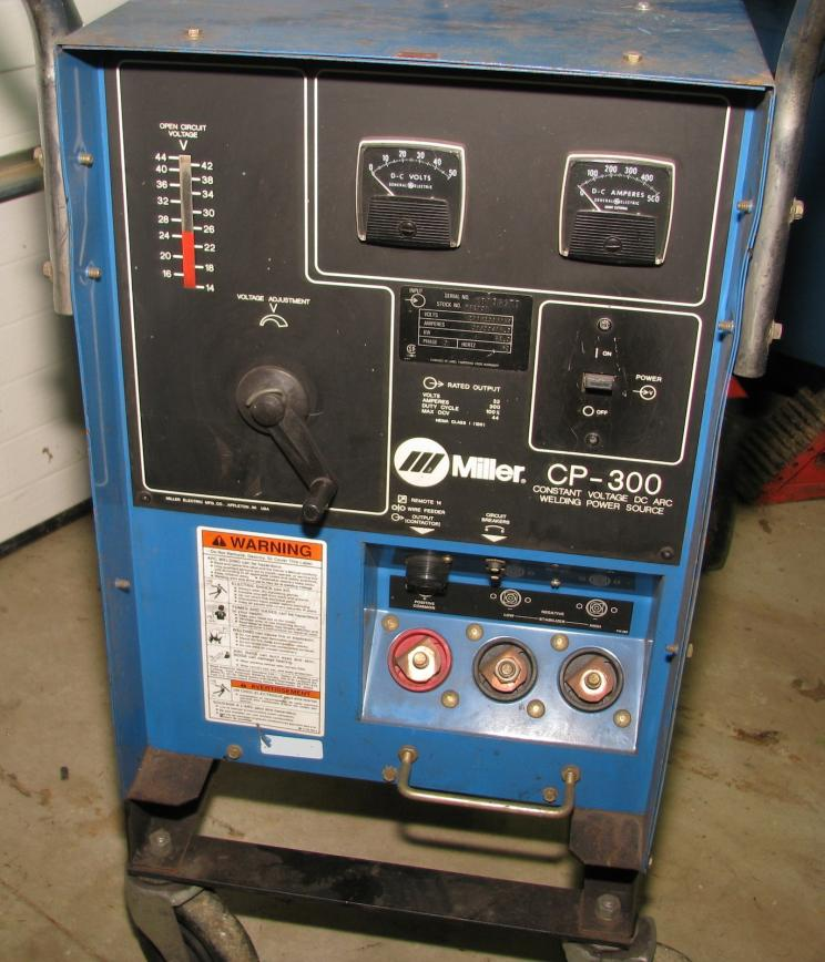 Successful Miller CP300 Welder HaasKamp Single Phase