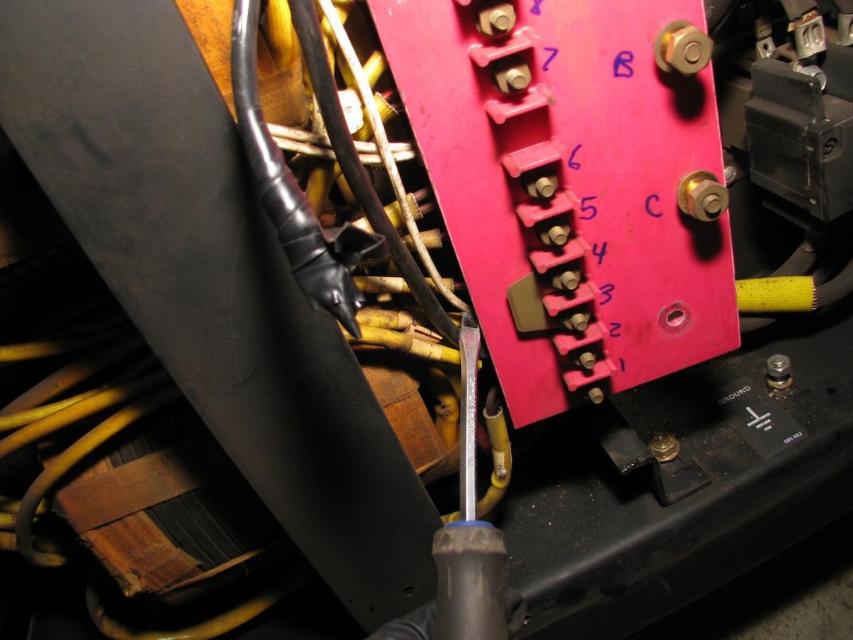 Successful Miller Cp300 Welder Haas Kamp Single Phase Conversion 480v Plug Wiring Diagram Fan Wires 4 5928