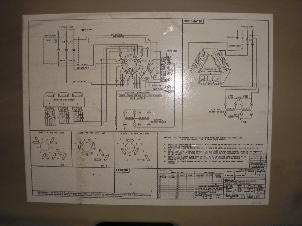 Hobart Wiring Diagrams | Wiring Diagram on