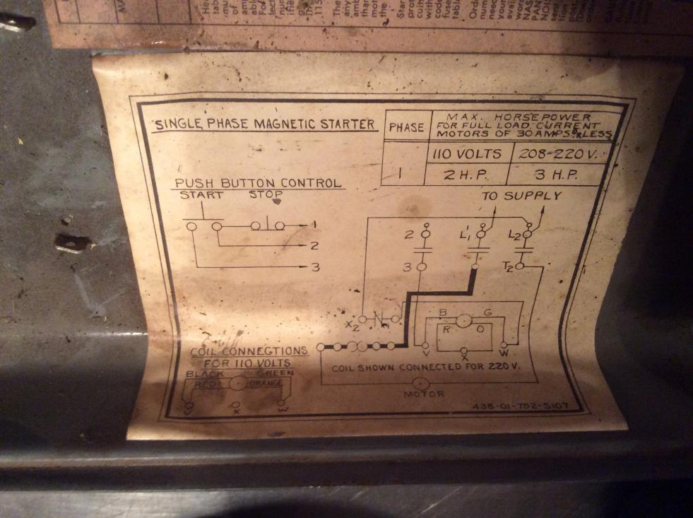 Awesome metal lathe wiring diagram photos best image wire binvm help with wiring a magnetic switch on my rockwell metal lathe greentooth Gallery