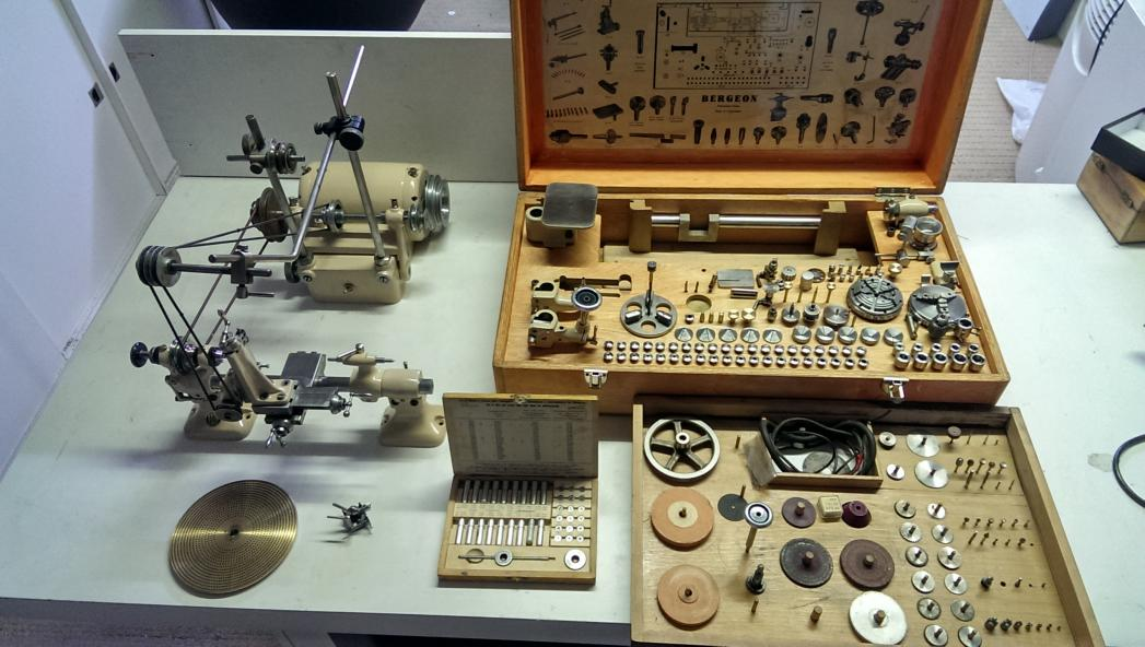 For Sale Superb Bergeon Watchmakers Lathe Type 1766