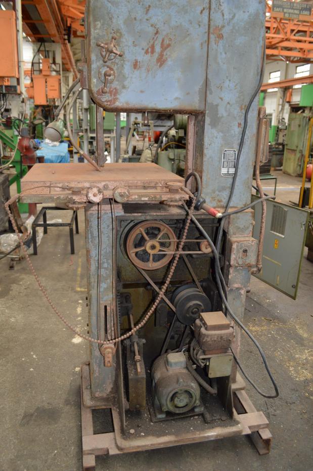 Thread: DoAll Metalmaster vertical bandsaw