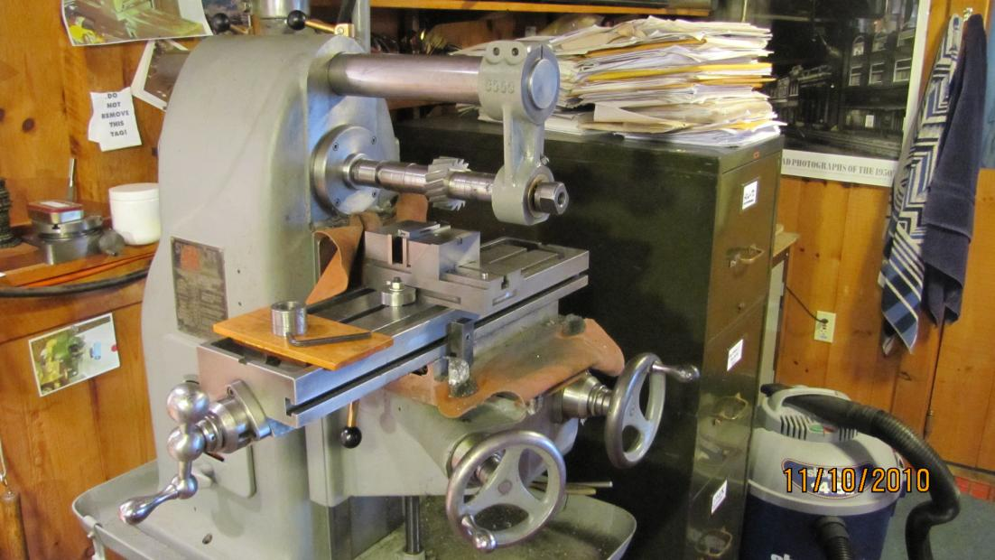 Lathe For Sale >> fs: Small Horizontal Mill with Vertical Head