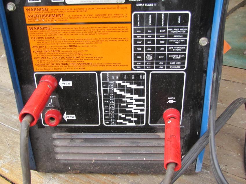 fs - Miller AC stick welder