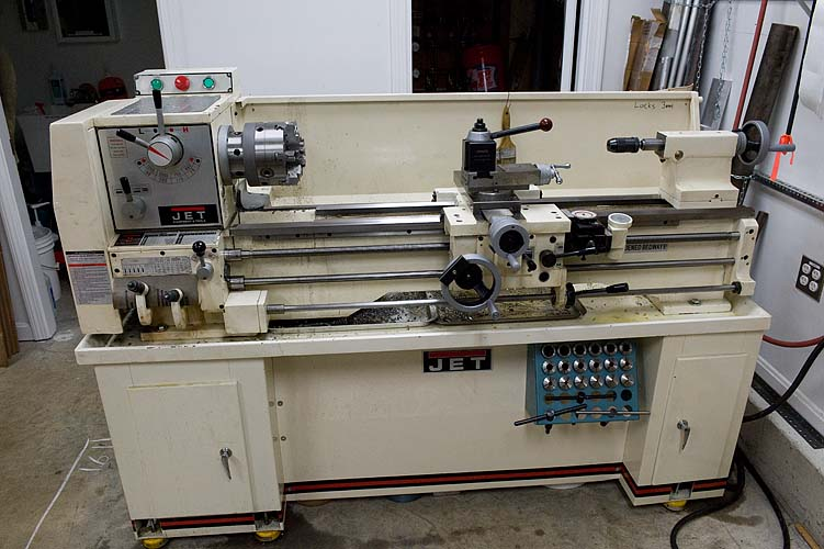 Jet Gear Head Bench Lathe Ghb-1340
