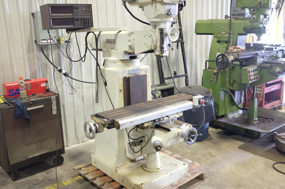excello milling machine for sale