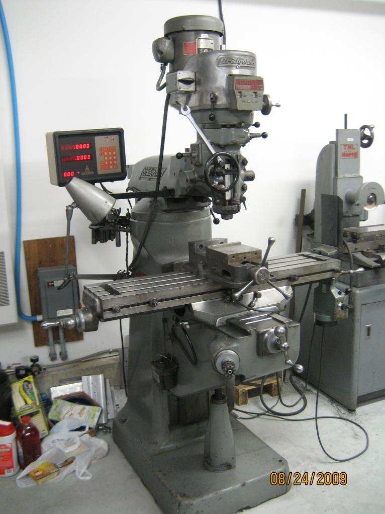 used bridgeport milling machine for sale
