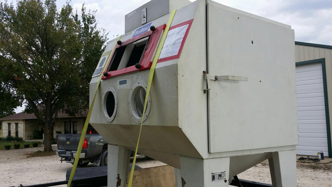Blasting cabinet for sale or trade in Houston area