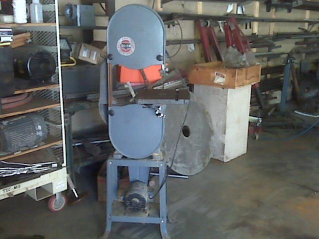 Small Rockwell Delta Vertical Bandsaw Metal Wood