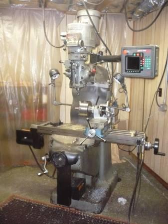 Bridgeport Series 1 Milling Machine 2hp Model 144510 W