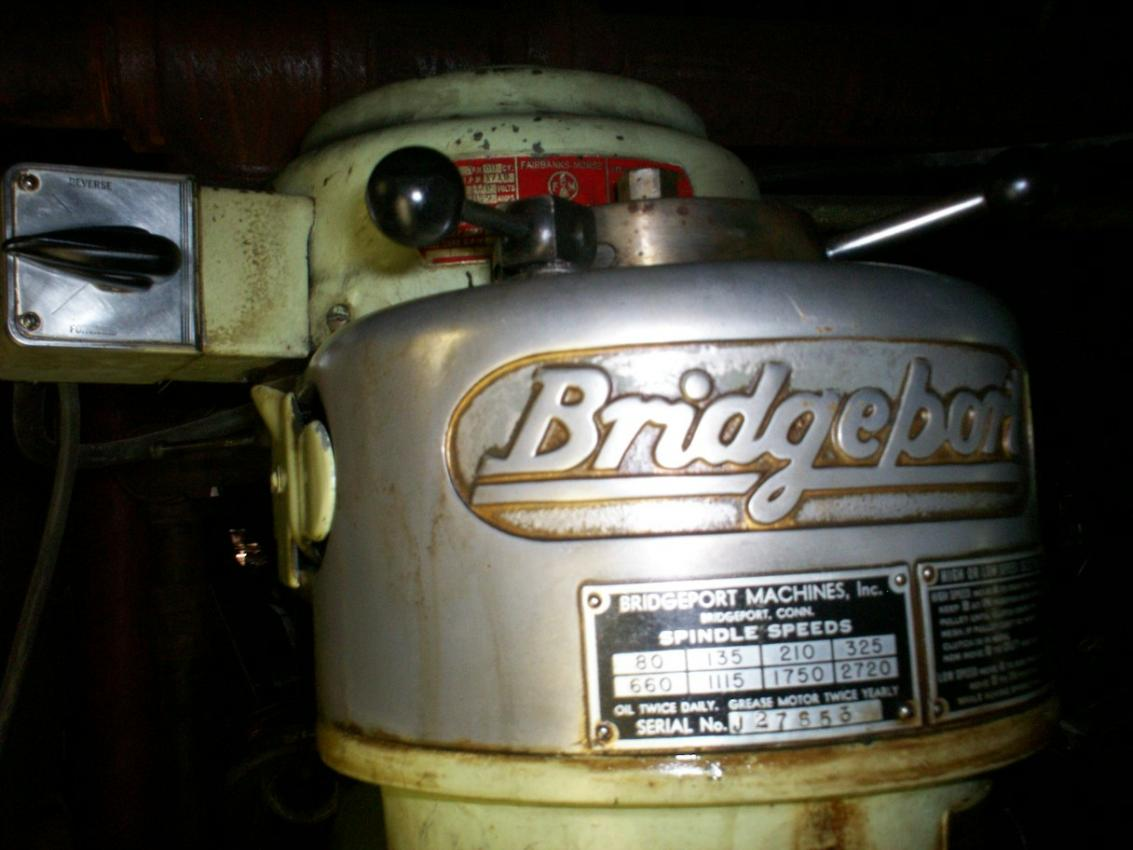 bridgeport milling machine models