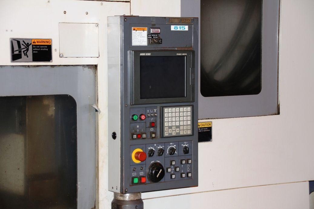 Mori Seiki Cv 500 Machining Center W Apc