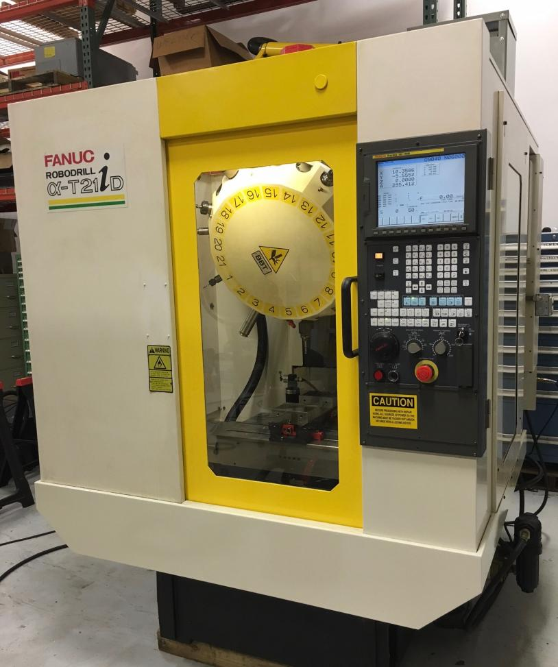 Machinist Tools For Sale >> FS- Fanuc Robodrill with 21 tool turret, 20,000 RPM Spindle and thru spindle coolant