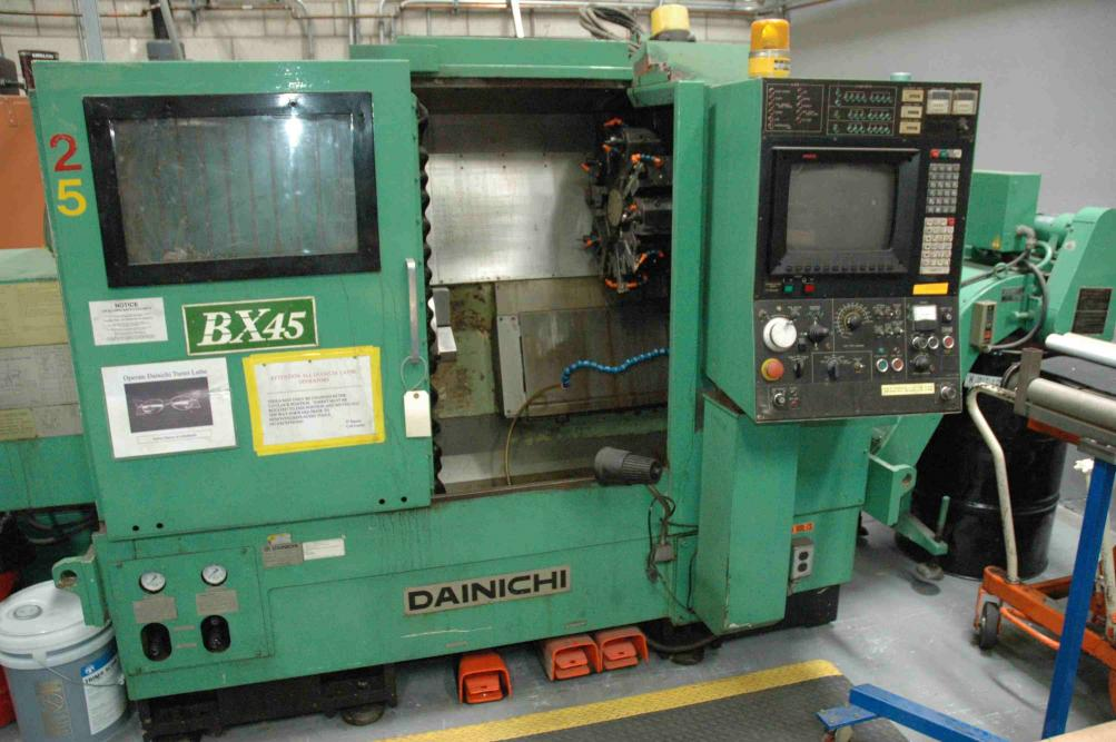 Cnc Machine For Sale >> Dainichi BX 45 CNC lathe