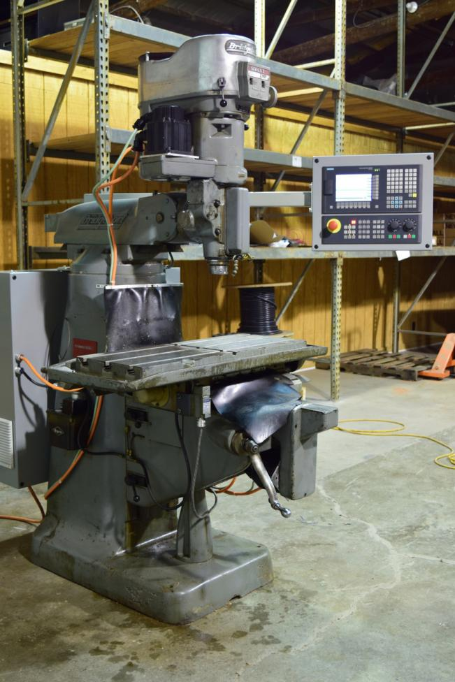 """Cnc Mill For Sale >> FS: Bridgeport Series 1 3-Axis Knee Mill, 34"""" x 12-1/2"""" Working Surface, Siemens CNC"""