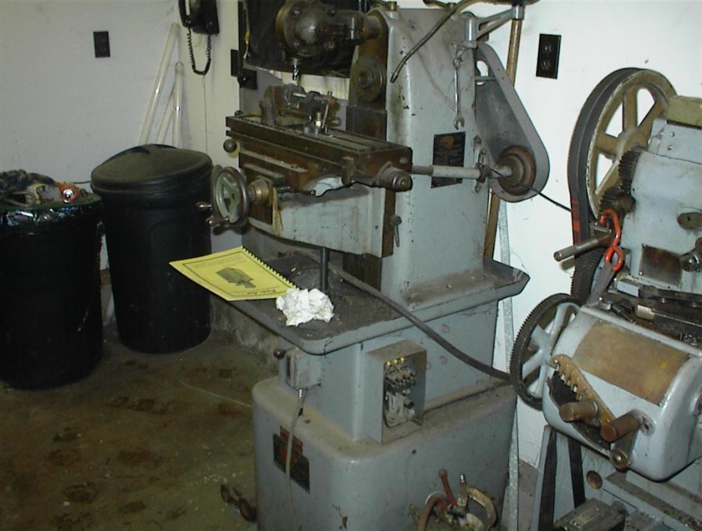 Cnc Mill For Sale >> Sheldon Vernon Mill FS