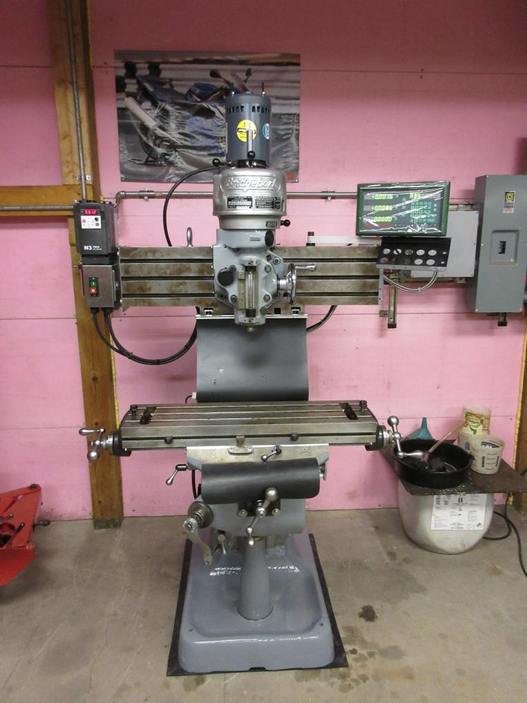 Bridgeport Mill For Sale >> Manual Bridgeport Mill for sale