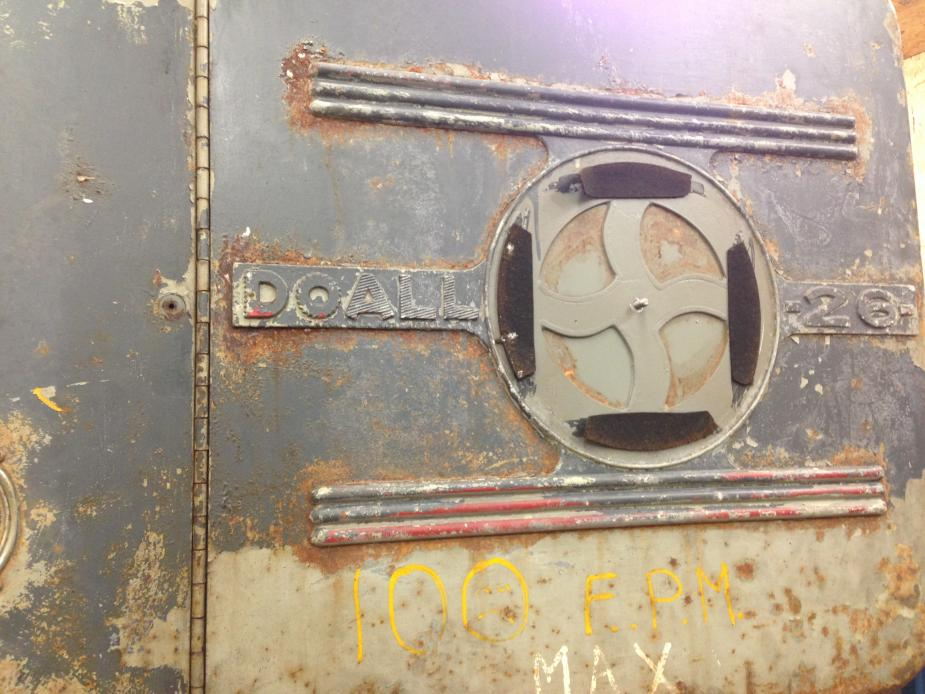 Doall 26 Quot Vertical Countor Bandsaw Project Parts