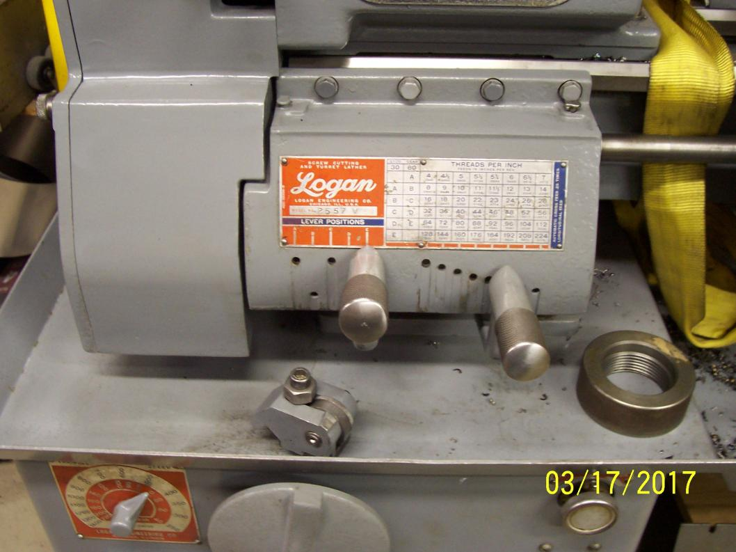 Lathe is located at Degenhart Machine, Geneva, Il and is under power. Price  is $1800