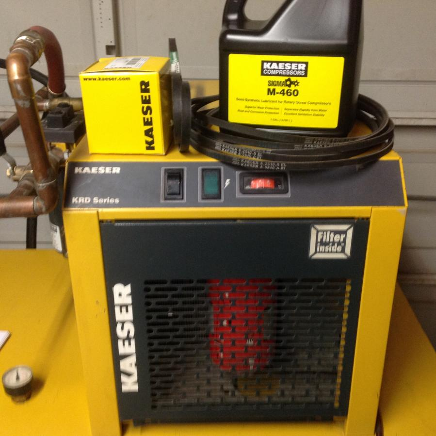 Kaeser Air Center Rotary Screw Compressor Dryer Tank