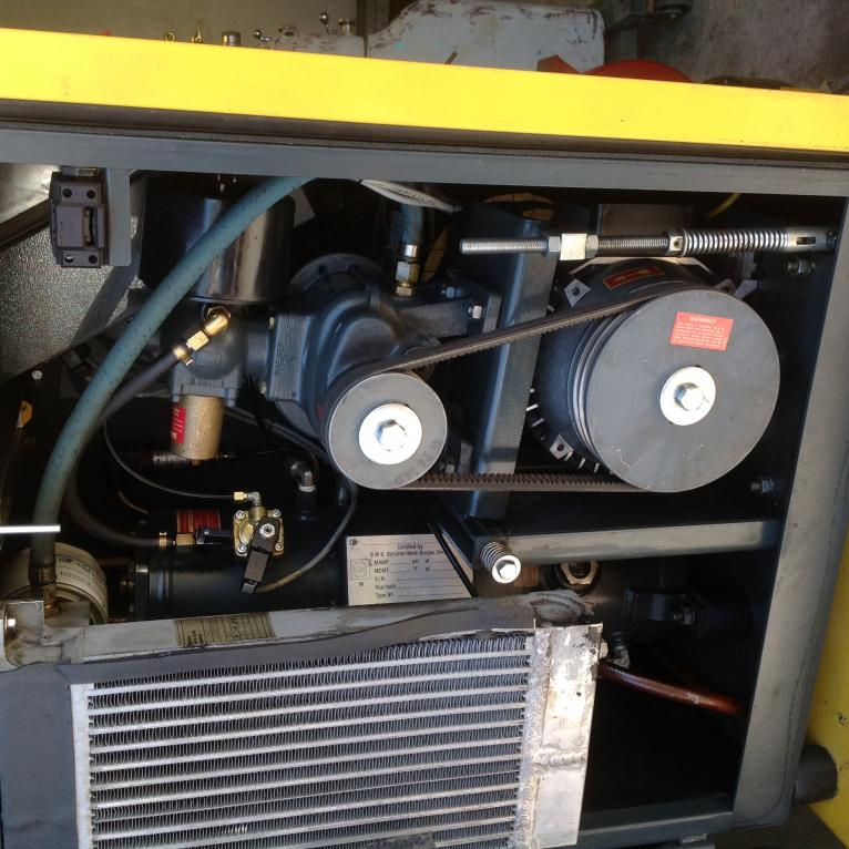 KAESER AIR CENTER Rotary Screw Compressor +dryer+ tank+ ...