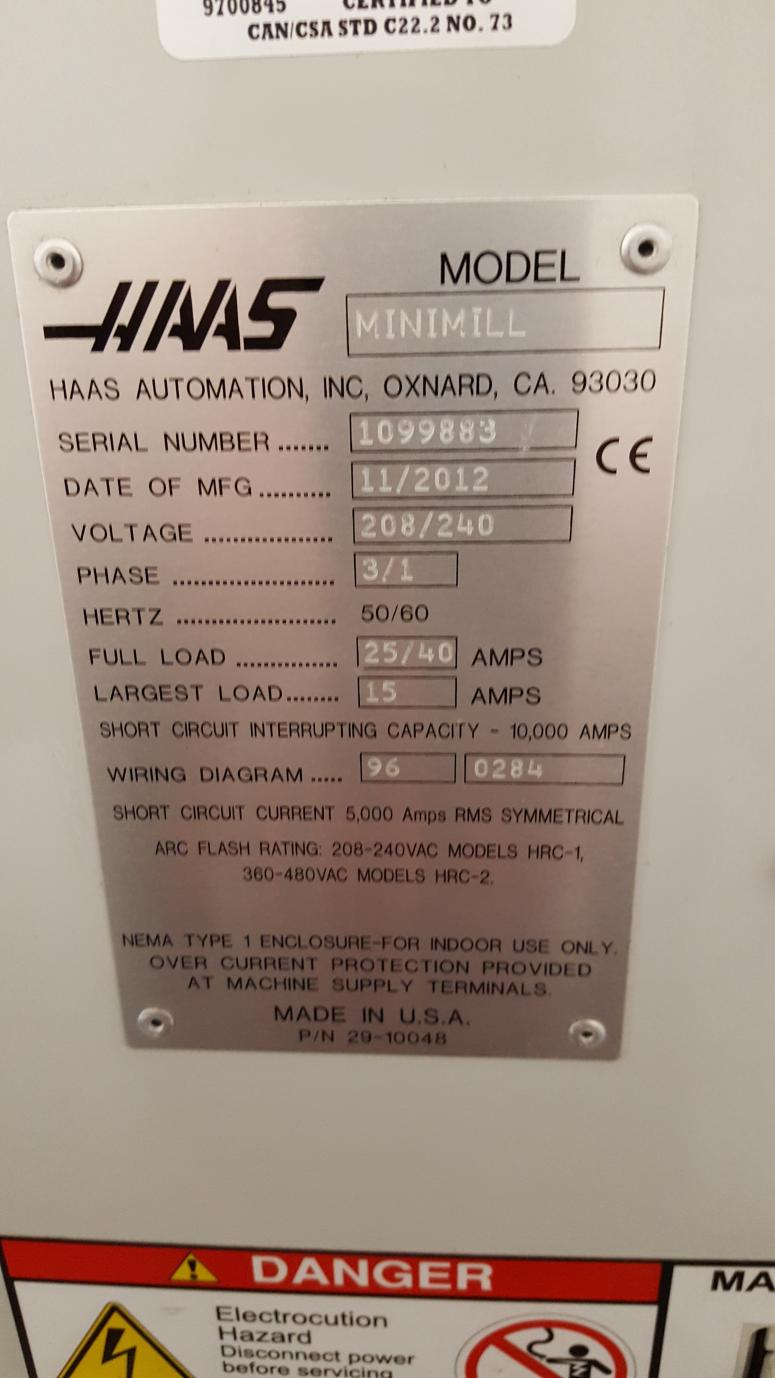 2012 Haas Minimill For Sale Wiring Diagram 20171018 124436 Resized