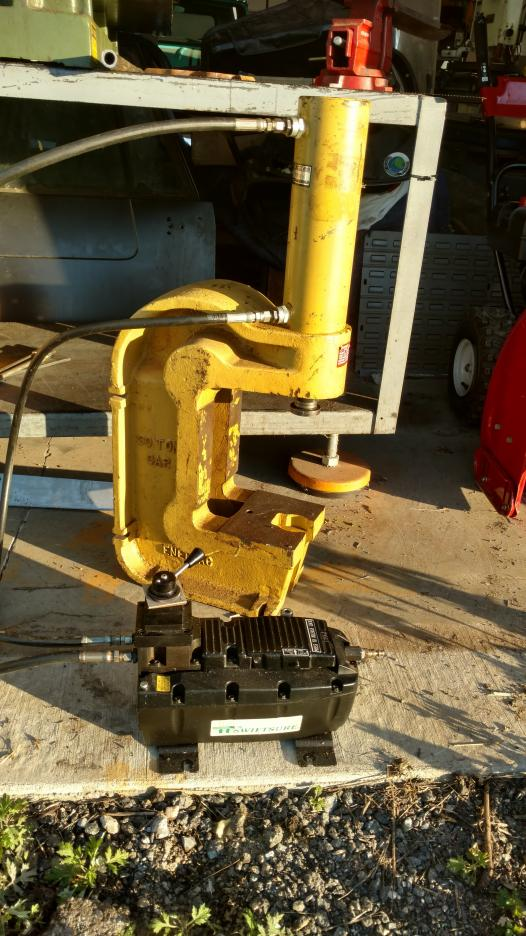 Enerpac 30 Ton C Frame Arbor Press