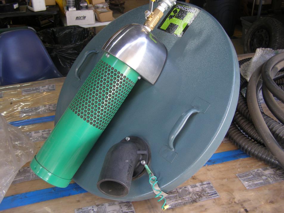 Hafco Vac Compressed Air Powered Industrial Vacuum Cleaner