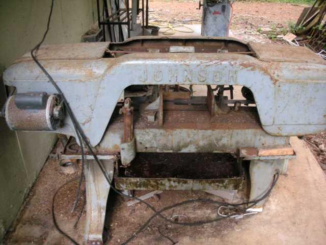 johnson model j bandsaw on south oregon coast rh practicalmachinist com johnson model j bandsaw parts Manual Benchtop Bandsaw