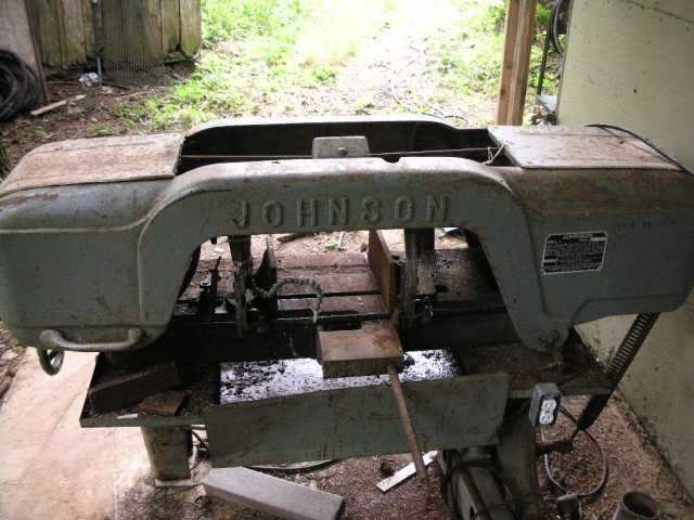 johnson model j bandsaw on south oregon coast rh practicalmachinist com Saw Manual Duracraft Bandsaw Manual