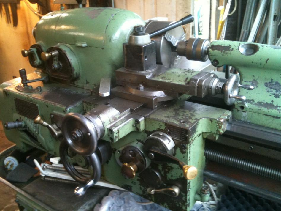 Lathe For Sale >> Smart & Brown Model A 9 x 18 Tool Room Lathe, $3,500