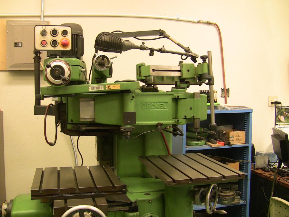 For Sale 1985 Deckel Kf2 Copy Mill Oregon