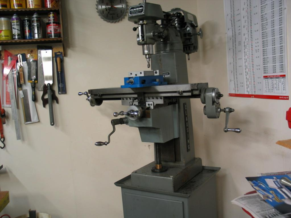 Milling Machine For Sale >> FS: Clausing 8530 (Eastern PA)