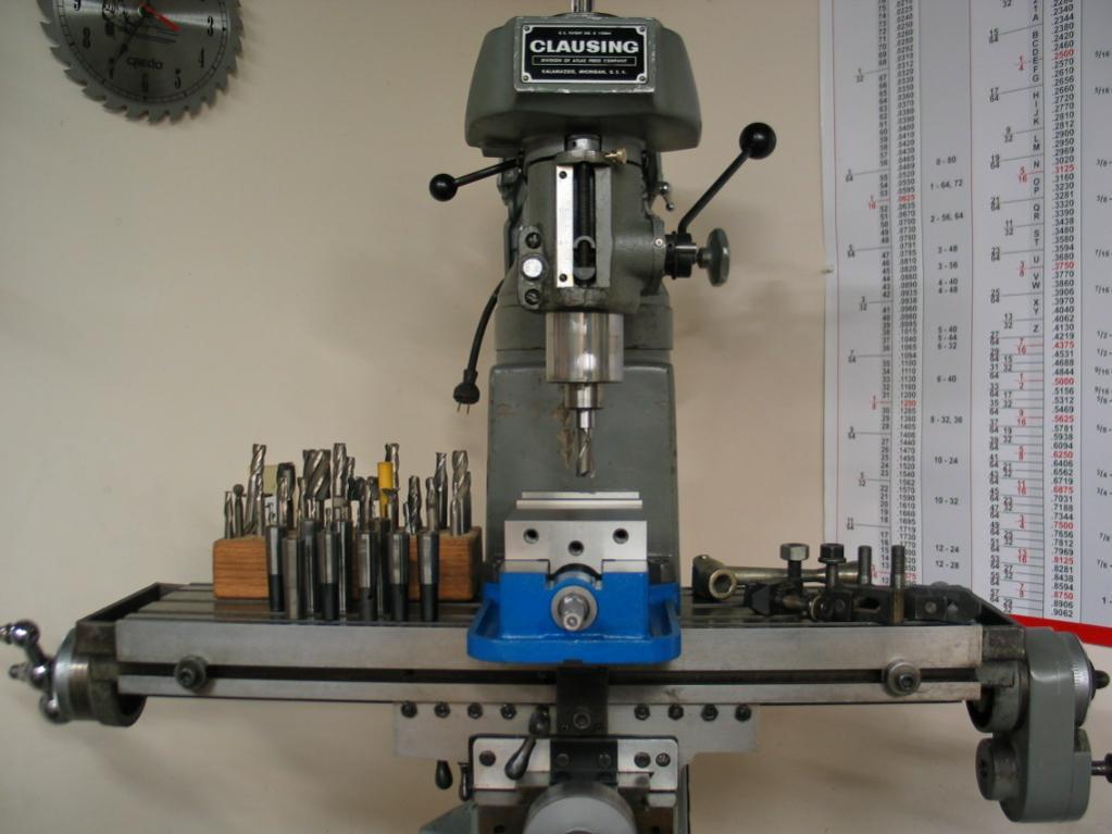 clausing 8530 milling machine