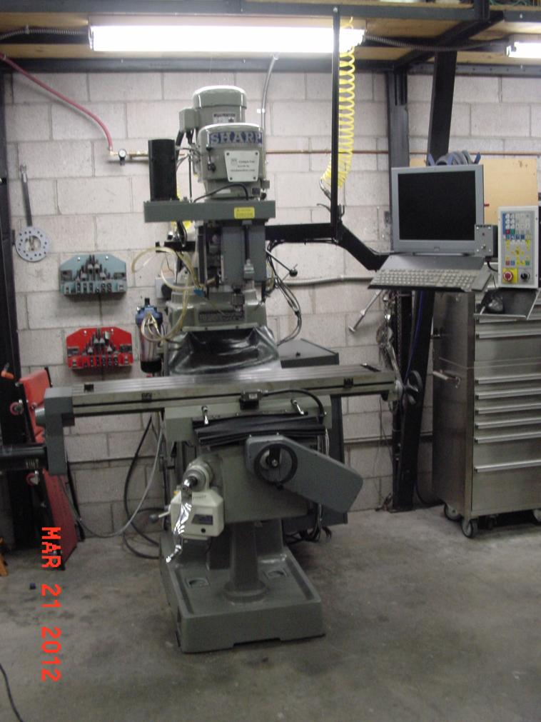 Sharp Tmv 3 Axis Cnc Mill For Sale