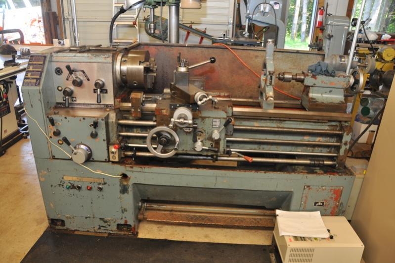 Lathe For Sale >> Fs Heavily Tooled Victor 1640g Taiwan Lathe For Sale In Pacific