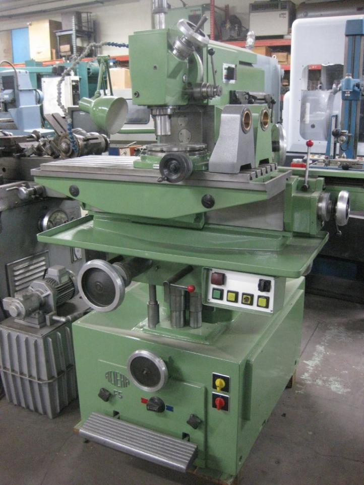 Machinist Tools For Sale >> Aciera f5 universal milling machine for sale. One owner!