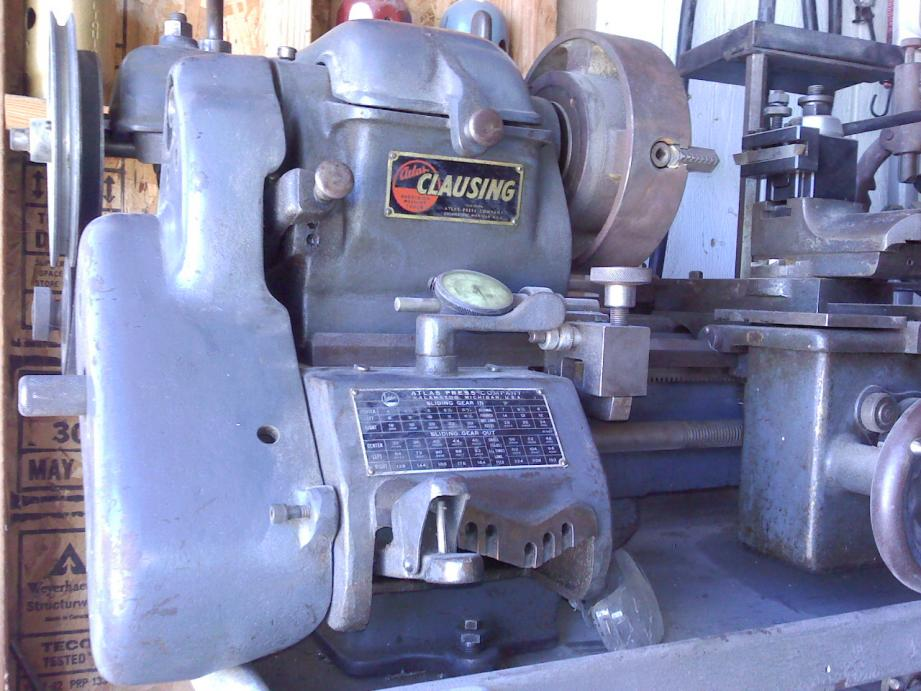 FS in So Cal: Atlas-Clausing 4808 Mk3 Lathe