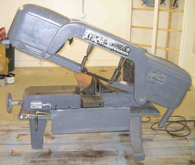 johnson model j horizontal bandsaw for sale rh practicalmachinist com Duracraft Bandsaw Manual johnson model j bandsaw specs