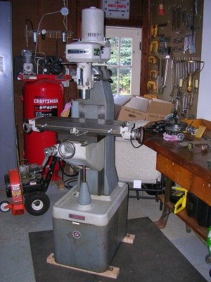 rockwell milling machine for sale
