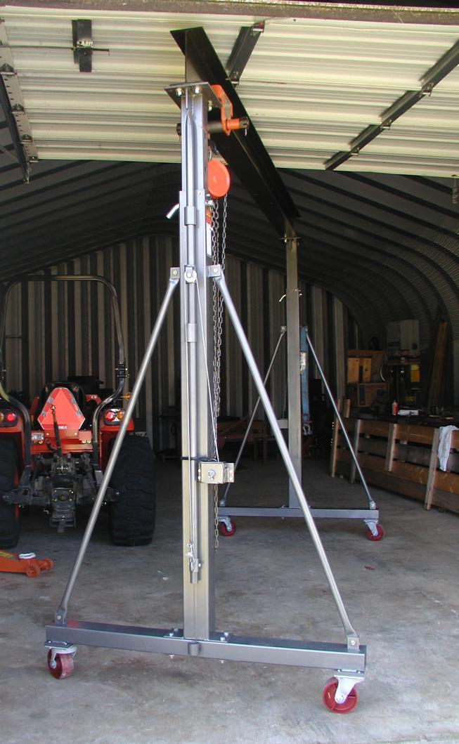Harbor Freight Gantry Crane >> 2 Ton Gantry Crane