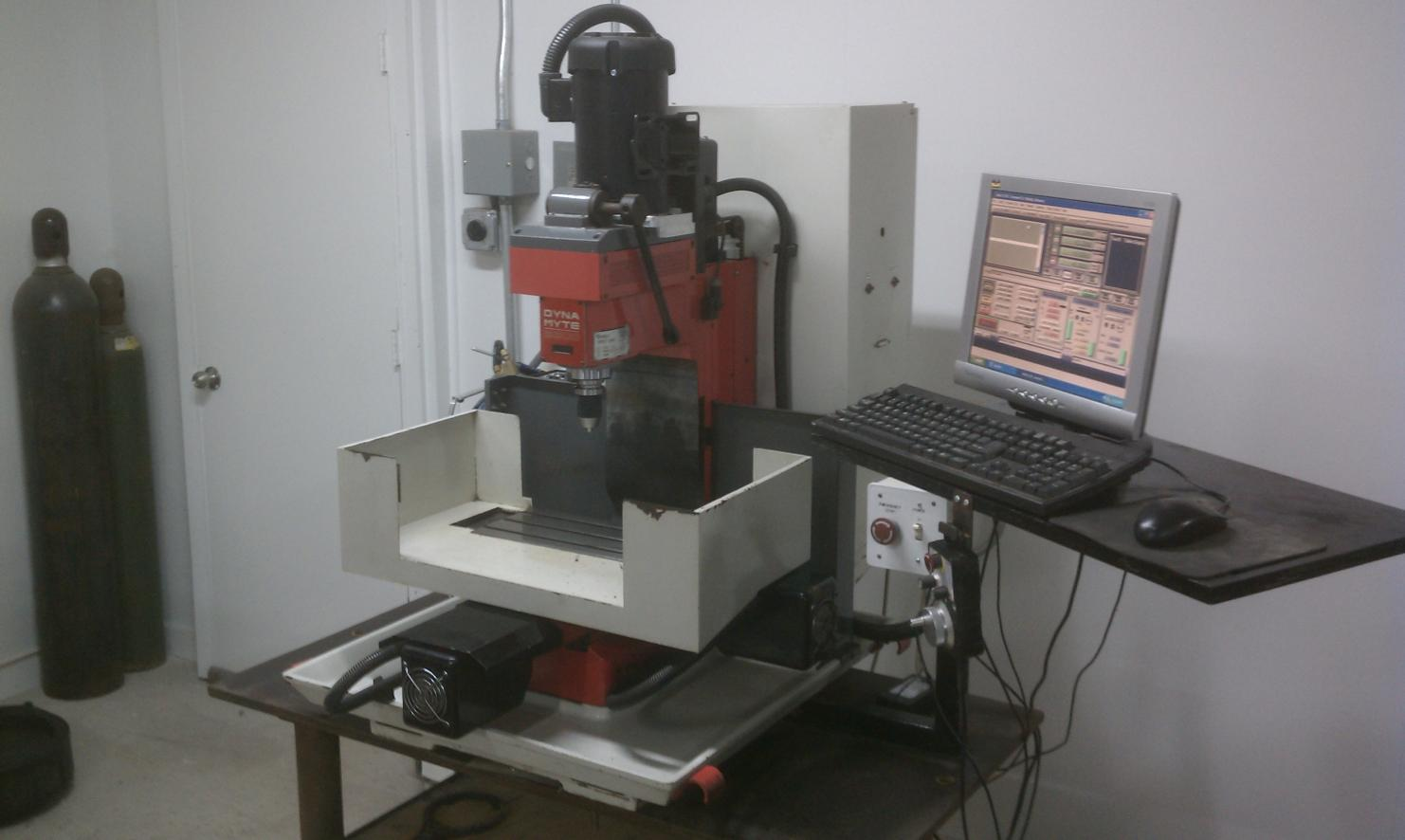 fs dyna mechtronics dm2800 cnc mill